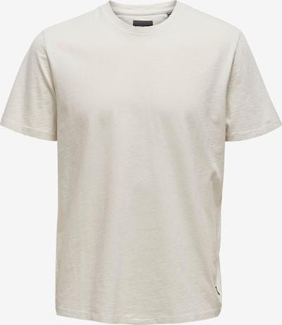 Only & Sons T-Shirt en blanc, Vue avec produit
