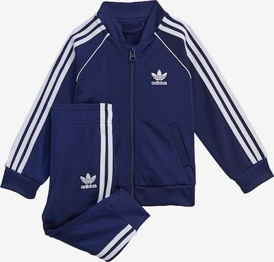 ADIDAS ORIGINALS Jogginganzug in nachtblau / weiß, Produktansicht