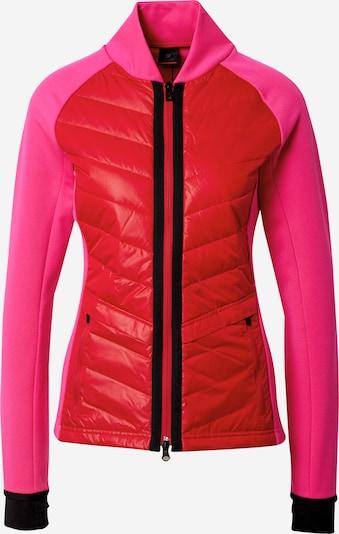 Bogner Fire + Ice Veste de survêtement 'KATHA' en rose / rouge / noir, Vue avec produit