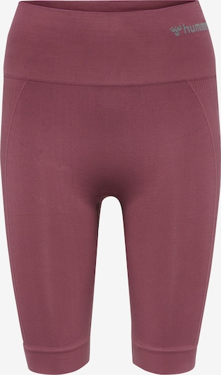 Hummel Workout Pants in Grey / Berry, Item view