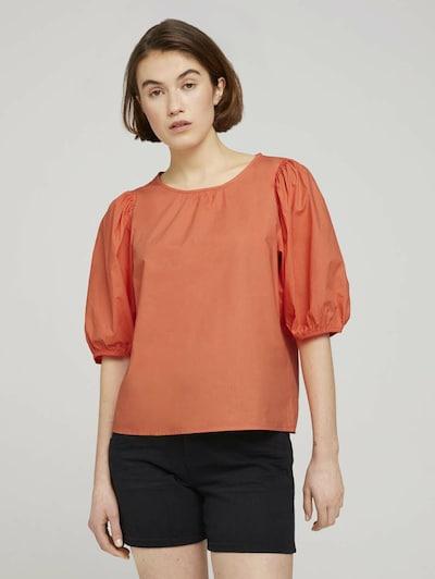 TOM TAILOR DENIM Bluse in orange, Modelansicht