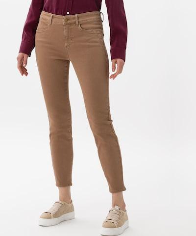 BRAX Jeans 'Style Ana S' in karamell, Modelansicht