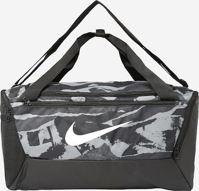 Borsa sportiva NIKE di colore antracite / grigio chiaro / nero, Visualizzazione prodotti