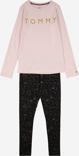 TOMMY HILFIGER Pyžamo - zlatá / světle růžová / černá, Produkt