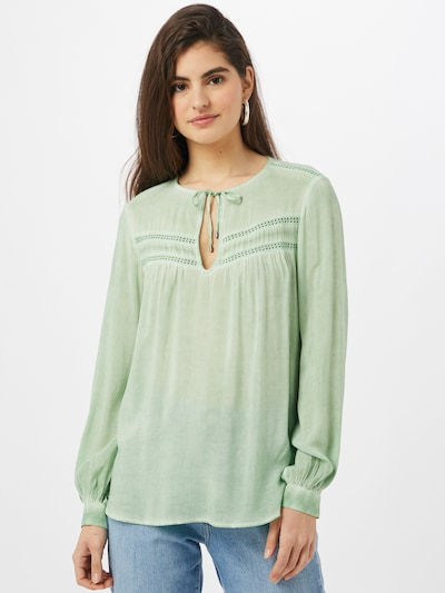 Q/S by s.Oliver Bluse in mint, Modelansicht
