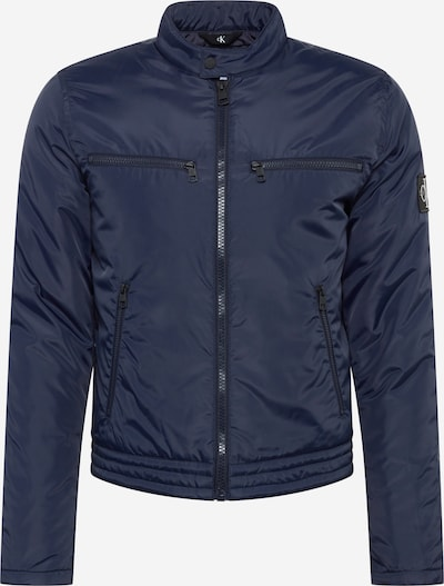 Calvin Klein Jeans Tussenjas in de kleur Nachtblauw, Productweergave