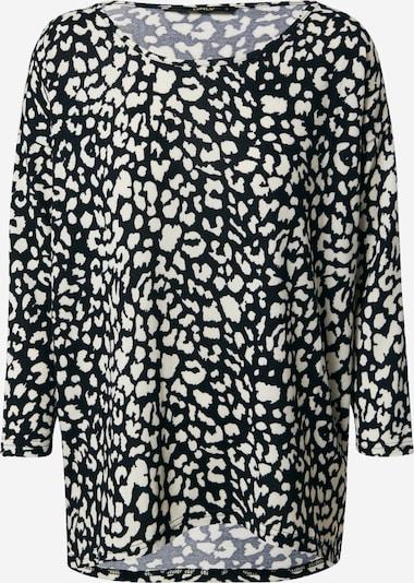 ONLY Shirt 'Elcos' in schwarz / weiß, Produktansicht