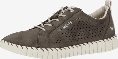 MUSTANG Sneaker in dunkelgrau, Produktansicht