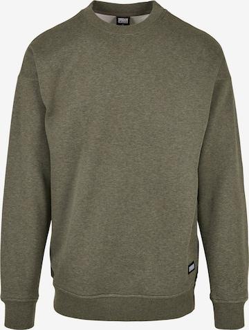 Urban Classics Sweatshirt in Grün