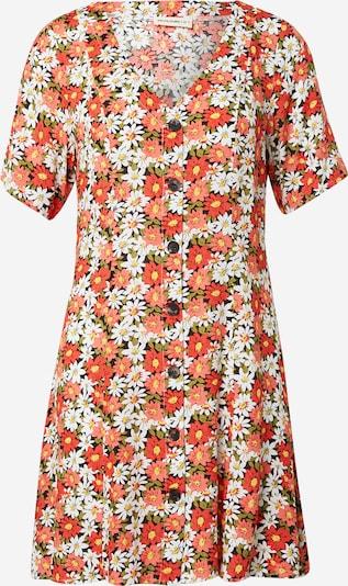 24COLOURS Рокля тип риза в пъстро / черно, Преглед на продукта