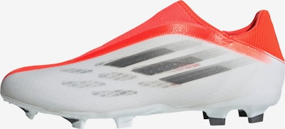 ADIDAS PERFORMANCE Soccer Cleats 'X Speedflow.3 Laceless' in Grey / Orange red / White, Item view