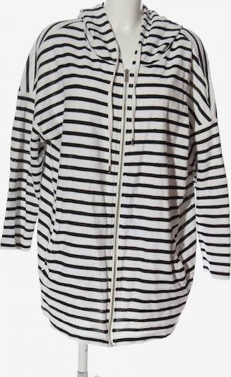 SAMOON Kapuzensweatshirt in 5XL in schwarz / weiß, Produktansicht