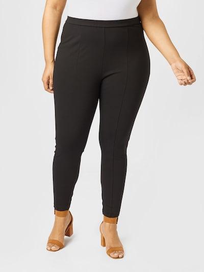 Forever New (Petite) Pantalon 'Sandra' en noir, Vue avec modèle