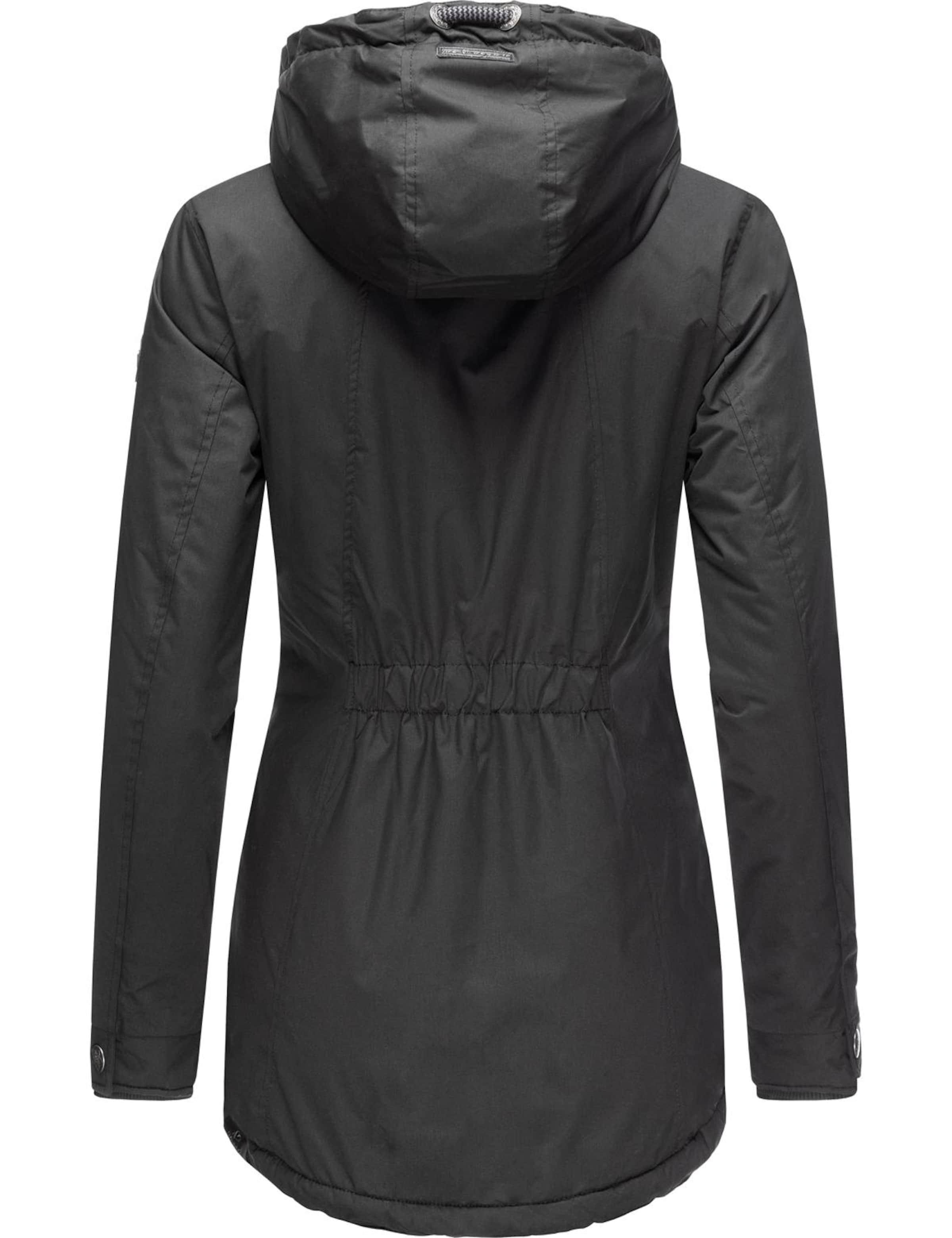 Ragwear Outdoorjacka 'Zuzka' i svart