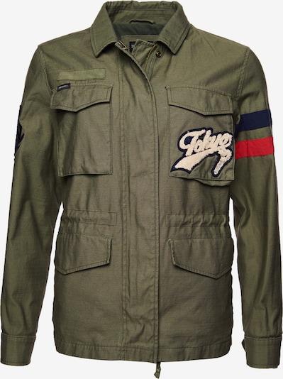 Superdry Jacke in khaki / mischfarben, Produktansicht