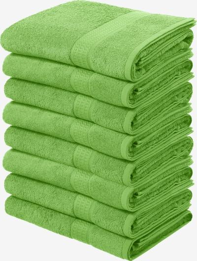 MY HOME Handtücher in grün, Produktansicht