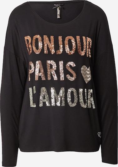 Key Largo Shirt in kupfer / schwarz / silber, Produktansicht