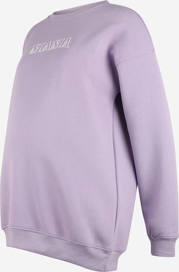 Megztinis be užsegimo iš Missguided Maternity, spalva – šviesiai violetinė / balta, Prekių apžvalga