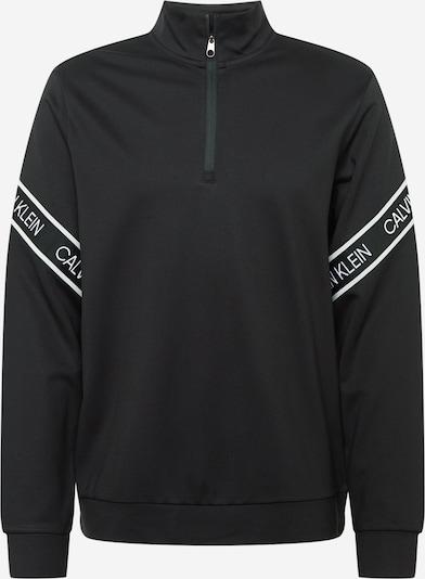 Calvin Klein Performance Sportsweatshirt in de kleur Zwart / Wit, Productweergave