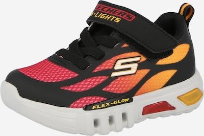 Sneaker 'FLEX-GLOW - DEZLOM' SKECHERS pe portocaliu / roșu / negru, Vizualizare produs
