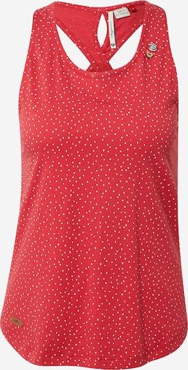 Ragwear Top 'INFINY' w kolorze czerwony / białym, Podgląd produktu