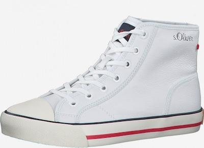 Sneaker înalt s.Oliver pe alb, Vizualizare produs