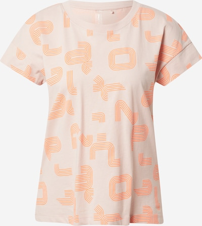ONLY PLAY Functioneel shirt in de kleur Sinaasappel / Rosa, Productweergave