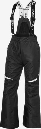 CMP Skihose in schwarz / weiß, Produktansicht