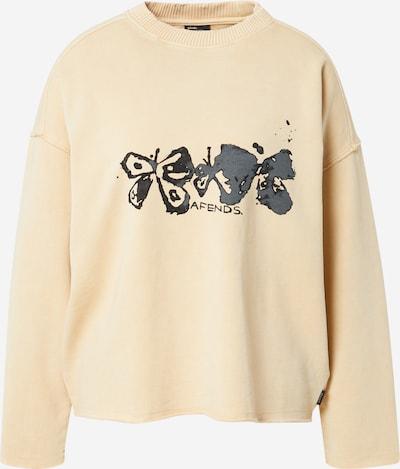 Afends Sweatshirt in de kleur Crème / Donkergrijs / Zwart, Productweergave