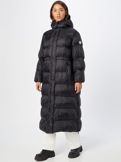 No. 1 Como Winter Coat 'Mina' in Black, View model