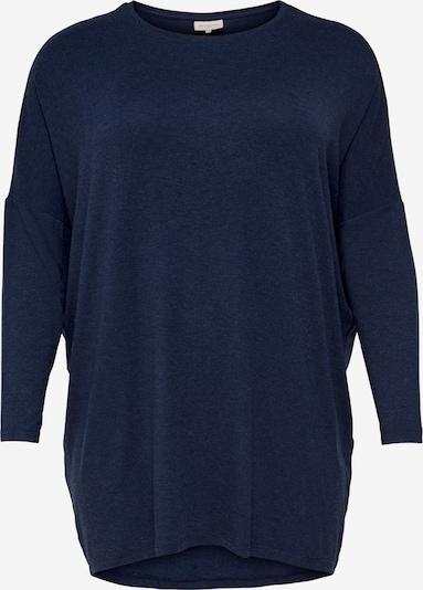 Tricou ONLY Carmakoma pe albastru închis, Vizualizare produs