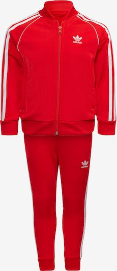 ADIDAS ORIGINALS Set 'Adicolor SST' in de kleur Rood / Wit, Productweergave