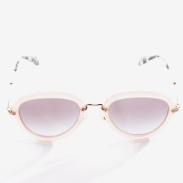 Miu Miu Sonnenbrille in One Size in Pink