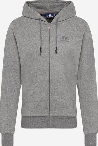 Giacca di felpa di La Martina in grigio