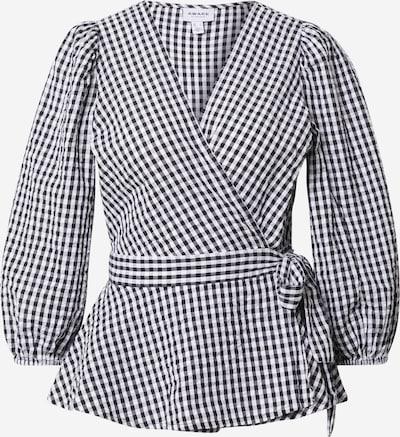VERO MODA Blus 'OLINE' i svart / vit, Produktvy