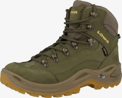 LOWA Boots en kaki, Vue avec produit
