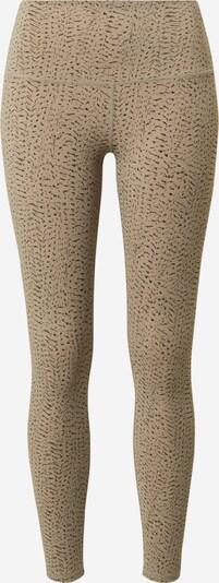 Varley Leggings 'Luna' in taupe / schwarz, Produktansicht
