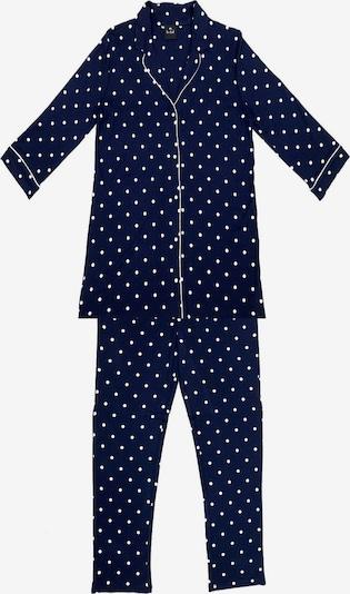 Le Chat Pyjama en bleu marine / blanc, Vue avec produit