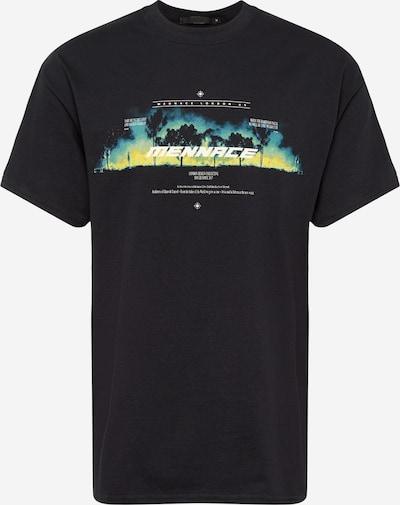 Marškinėliai iš Mennace , spalva - mišrios spalvos / juoda: Vaizdas iš priekio