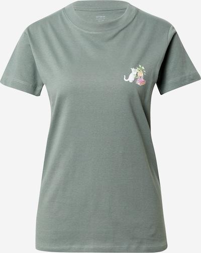 Cotton On Тениска 'CLASSIC ARTS' в пастелно зелено / светлозелено / пастелно оранжево / светлорозово / бяло, Преглед на продукта