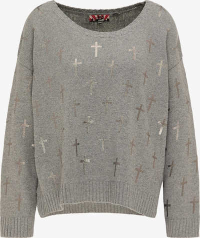myMo ROCKS Oversized sweater in Grey / Silver, Item view