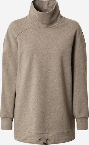 Varley Athletic Sweatshirt 'Morrison' in Brown