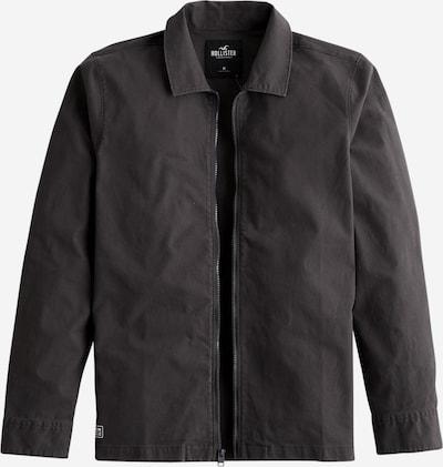 HOLLISTER Přechodná bunda - černá / bílá, Produkt