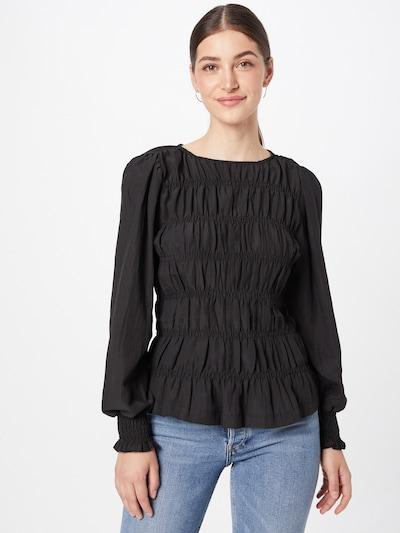 Freequent Блуза 'ELOISE' в черно: Изглед отпред