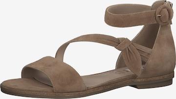 Sandales à lanières s.Oliver en beige