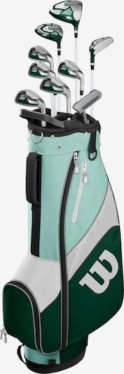 WILSON Golfschlägersatz in aqua / grün / weiß, Produktansicht