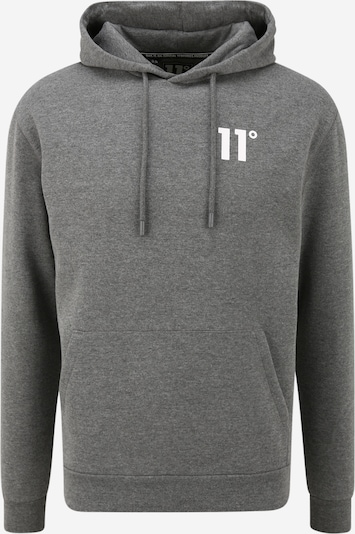 11 Degrees Sweat-shirt en gris chiné, Vue avec produit