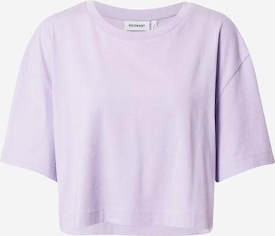 WEEKDAY T-Krekls, krāsa - lillā, Preces skats