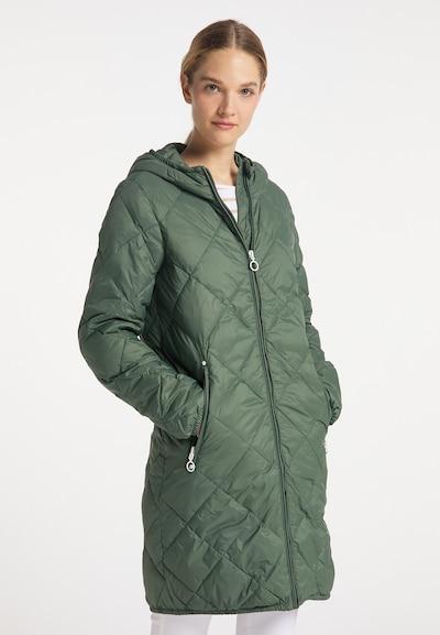 DreiMaster Maritim Mantel in grün, Modelansicht