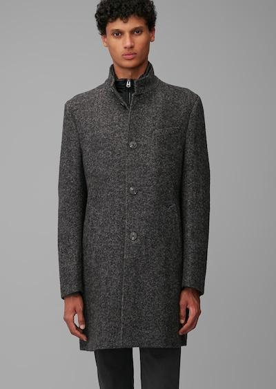 Marc O'Polo Winterjas in de kleur Donkergrijs / Zwart / Wit, Modelweergave